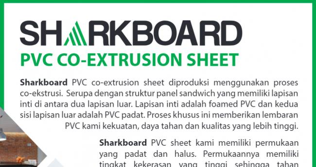 Jual PVC Board - Sharkboard PVC Board