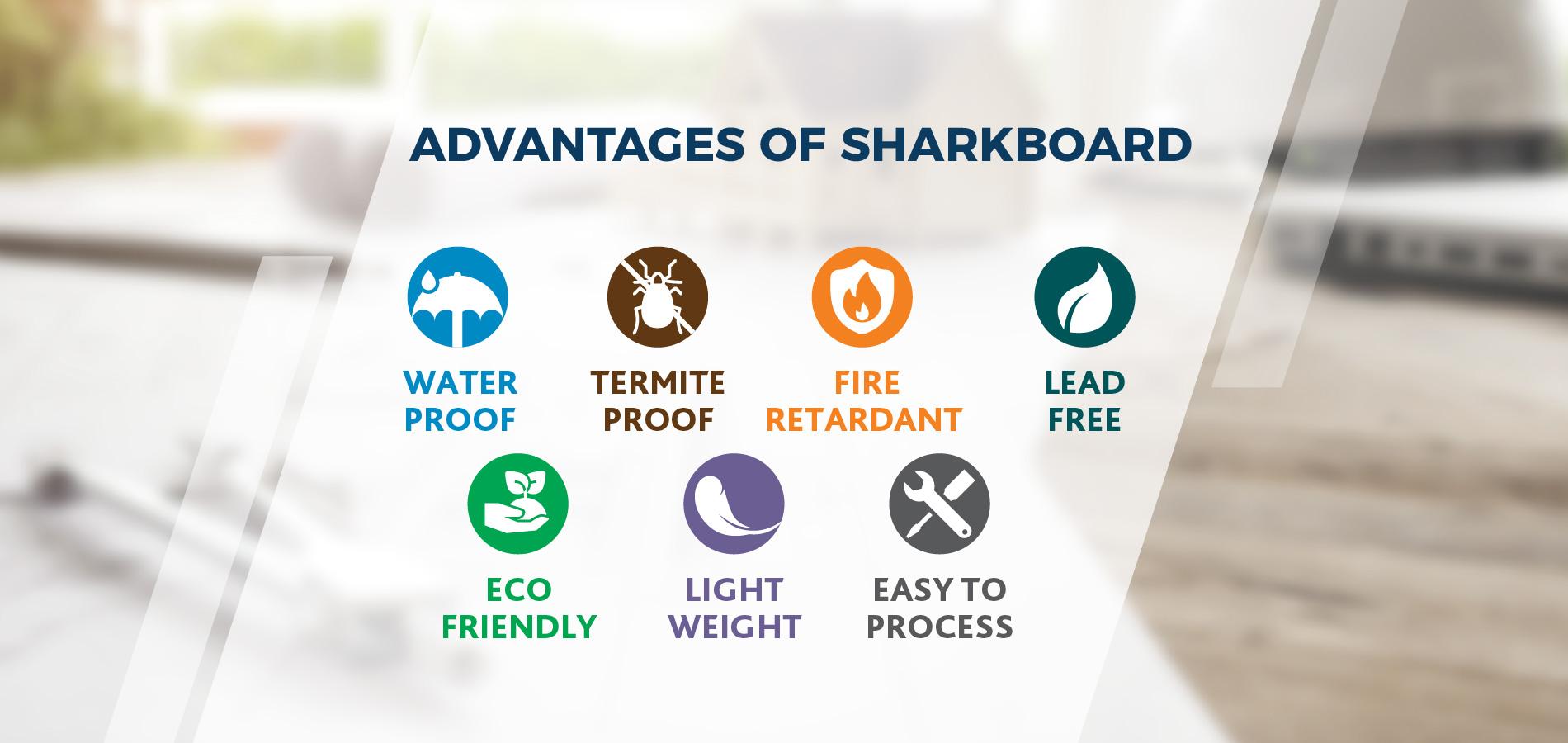 Sharkboard Advantages